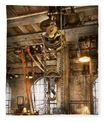 Machinist - In The Age Of Industry Fleece Blanket