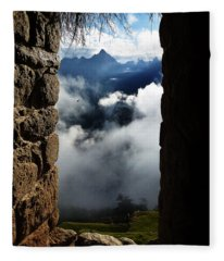 Machu Picchu Peru 4 Fleece Blanket