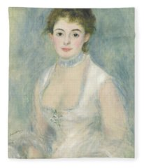 Madame Henriot Fleece Blanket