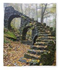 Madame Sherri Forest - Chesterfield New Hampshire Usa Fleece Blanket