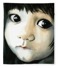 Madi's Eyes Fleece Blanket