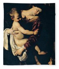 Madonna Di Loreto Fleece Blanket