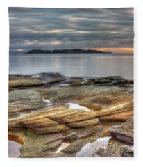 Madrona Sunrise Fleece Blanket