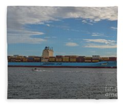 Maersk Line Beaumont Fleece Blanket