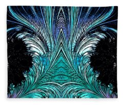 Magic Doors Fleece Blanket