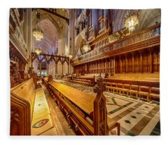 Magnificent Cathedral I Fleece Blanket