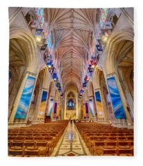 Magnificent Cathedral II Fleece Blanket
