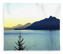 Magnificent Howe Sound Fleece Blanket
