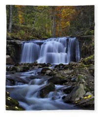 Magnificent Waterfall Fleece Blanket