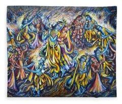 Maha Rass Fleece Blanket