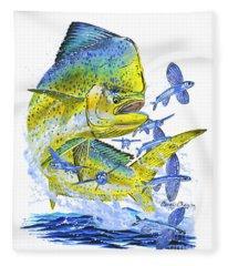 Mahi Mahi Fleece Blanket