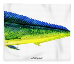 Mahi Mahi Fleece Blanket