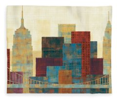 Skyline Fleece Blankets