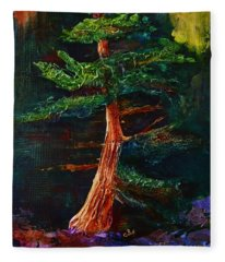 Majestic Pine Fleece Blanket
