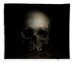 Male Skull Fleece Blanket