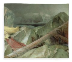 Man Proposes, God Disposes, 1864 Fleece Blanket