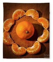 Mandarin - Vignette Fleece Blanket