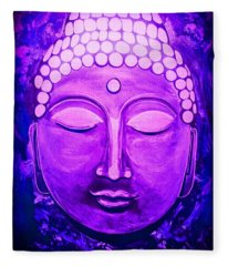 Mandi's Buddha Fleece Blanket