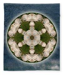 Manifesting Abundance Fleece Blanket