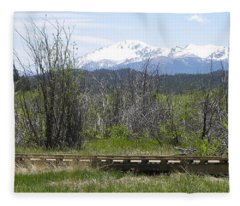 Lake Manitou Sp Woodland Park Co Fleece Blanket
