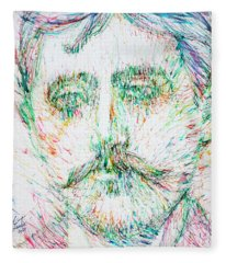 Marcel Proust Fleece Blanket