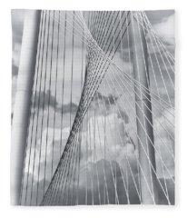 Margaret Hunt Hill Bridge Fleece Blanket