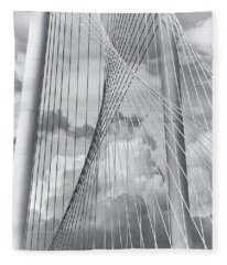 Margaret Hunt Hill Bridge Fleece Blanket