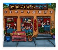 Maria's New Mexican Restaurant Fleece Blanket