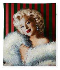Marilyn 126 D 3 Fleece Blanket