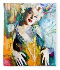 Marilyn Monroe 126 E Fleece Blanket