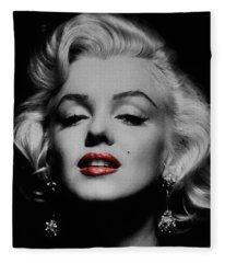 Marilyn Monroe 3 Fleece Blanket