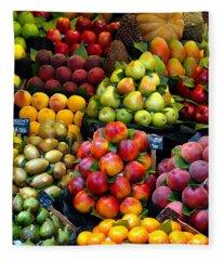 Market Time Fleece Blanket