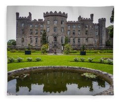 Markree Castle In Ireland's County Sligo Fleece Blanket
