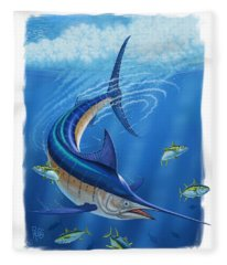 Marlin Fleece Blanket