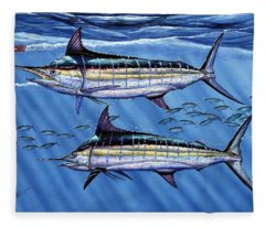 Marlins Twins Fleece Blanket