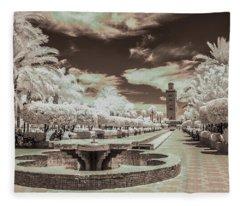 Marrakech - La Koutoubia Fleece Blanket