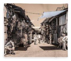 Marrakech Souk Fleece Blanket