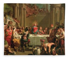 Marriage Feast At Cana Fleece Blanket