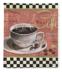 Marsala Coffee 1 Fleece Blanket
