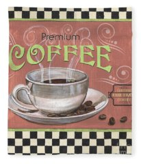 Marsala Coffee 2 Fleece Blanket