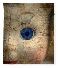 Mask Of Madness Fleece Blanket