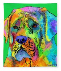 Mastiff Fleece Blanket