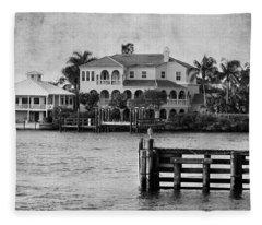 Matanzas Pass - Fort Myers Beach - Florida Fleece Blanket