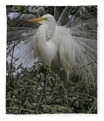 Mating Plumage Fleece Blanket