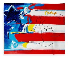 Max Stars And Stripes Fleece Blanket