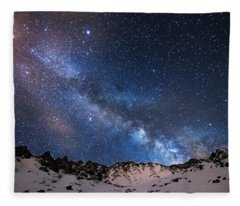Mayflower Gulch Milky Way Fleece Blanket