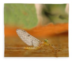 Mayfly Art Fleece Blanket