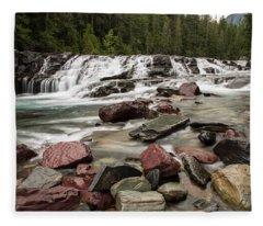 Mcdonald Creek Fleece Blanket