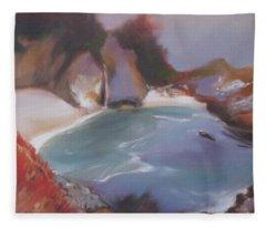 Mcway Falls Fleece Blanket