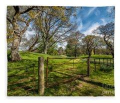 Meadow Gate Fleece Blanket
